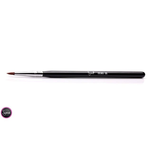 E05 Eyeliner Brush - Coral/Chrome