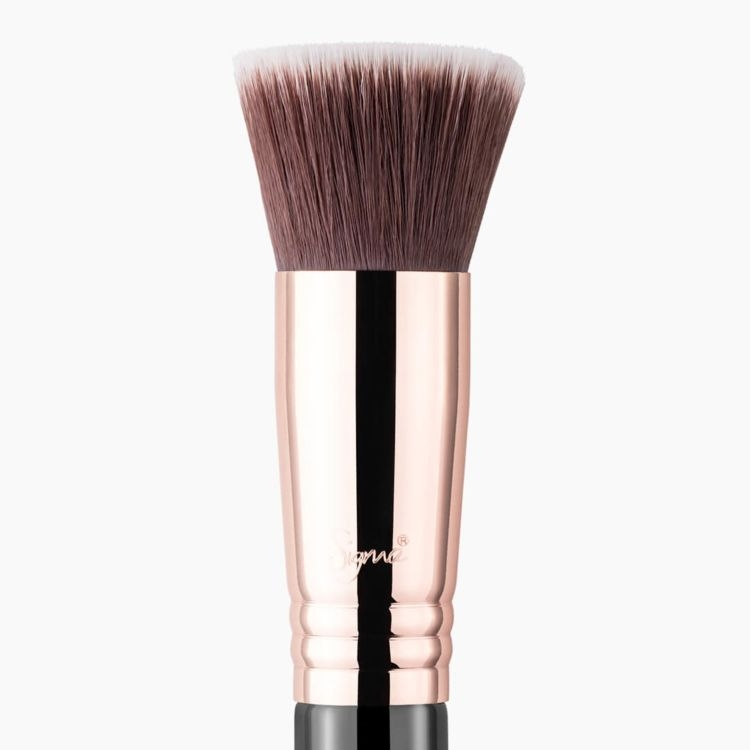 F80 Flat Kabuki™ Brush - Black/Copper