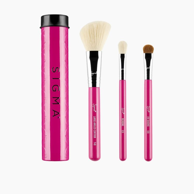 Essential Trio Makeup Brush Set