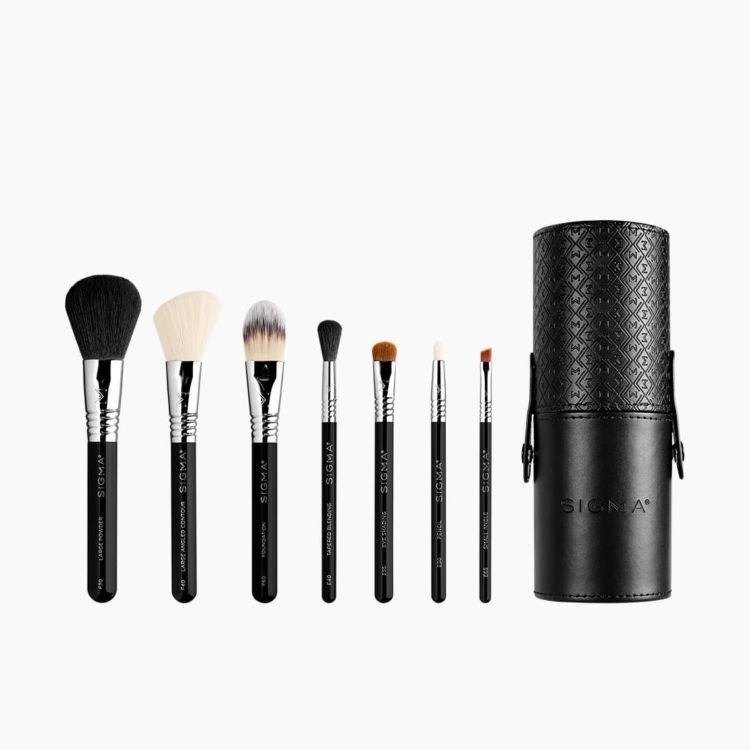 Travel Makeup Brush Set - Make Me Classy
