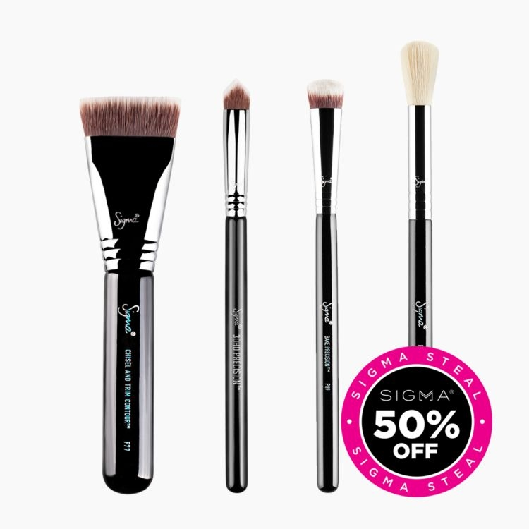Bake + Contour Brush Set