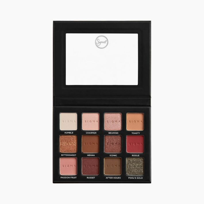 Warm Neutrals Volume 2 Eyeshadow Palette - open view