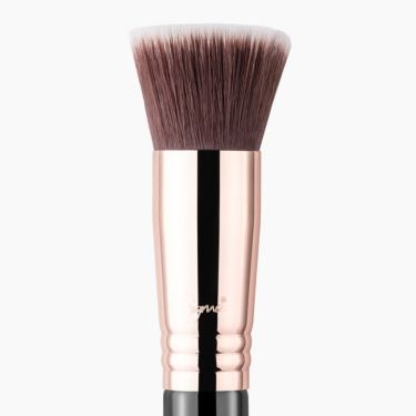 F80 Flat Kabuki Brush Copper close-up view