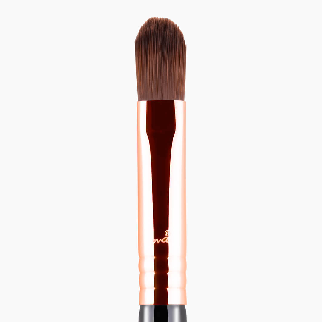 How to apply cream based eyeshadow with a brush