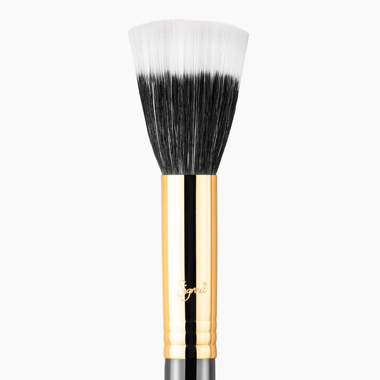F55 Small Duo Fibre Brush - Black/Gold