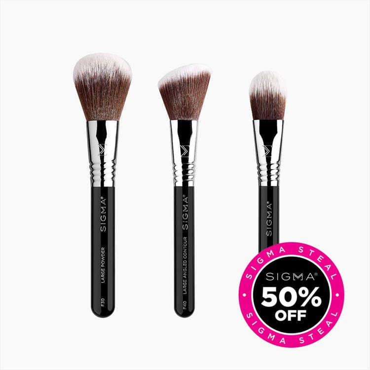 Elite Travel Face Brush Set
