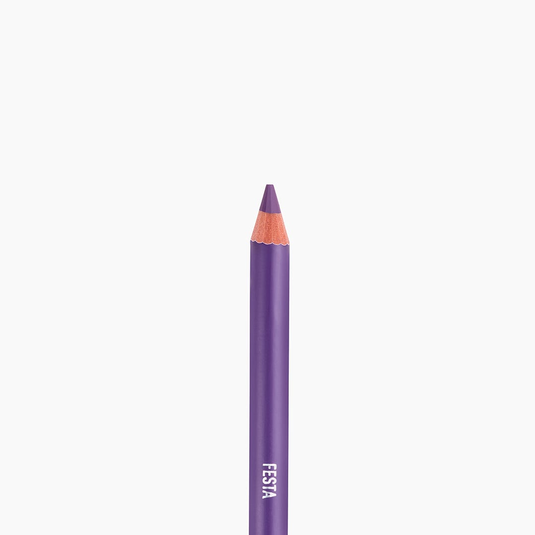 Dual-Ended Eye Liner - Festa - Purple