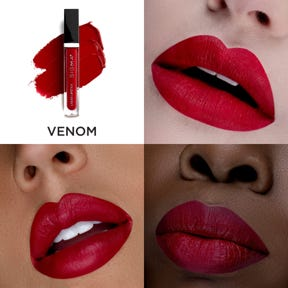 Liquid Lipstick Set Swatch Venom