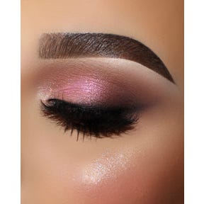 Enchanted Eyeshadow Palette Plume Closed Eye