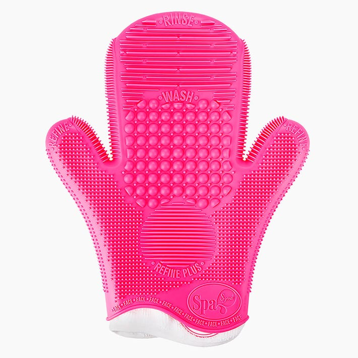 2X Sigma Spa® Makeup Brush Cleaning Glove - Pink