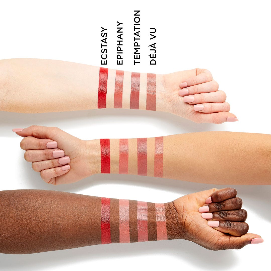 Infinity Point Lipstick - Temptation Arm Swatches