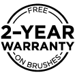 Brush Warranty Seal