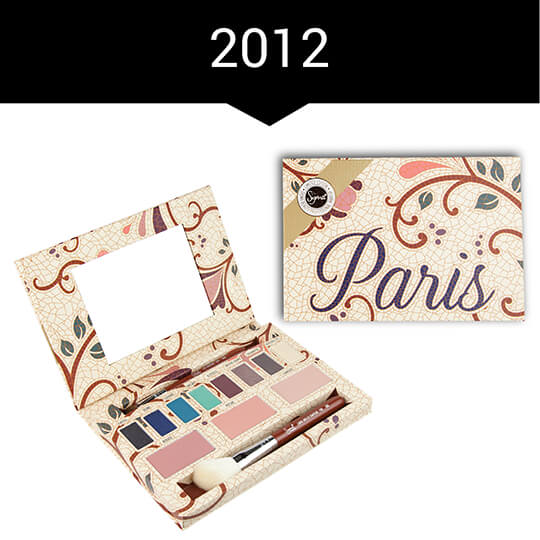 2012 - Paris Palette