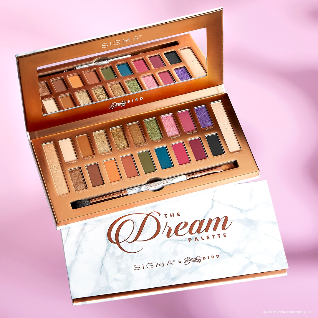 Sigma x BeautyyBird Dream Eye and Cheek Palette