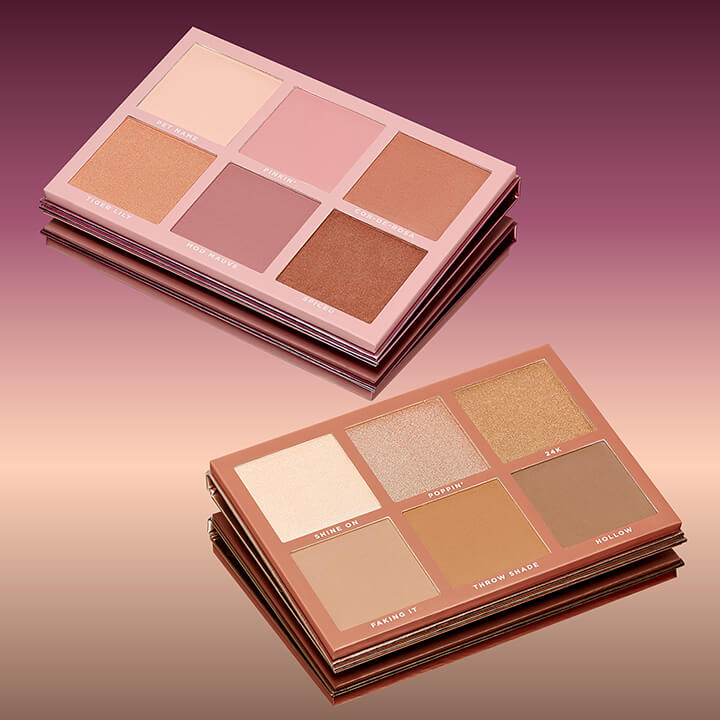 Blush and Sculpt Palletes