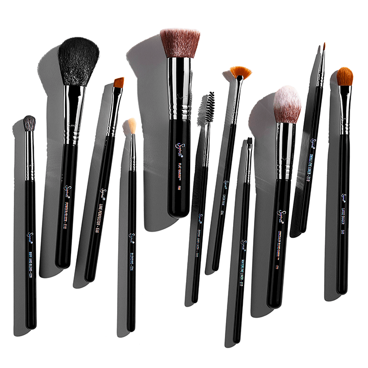 Styled image of brushes