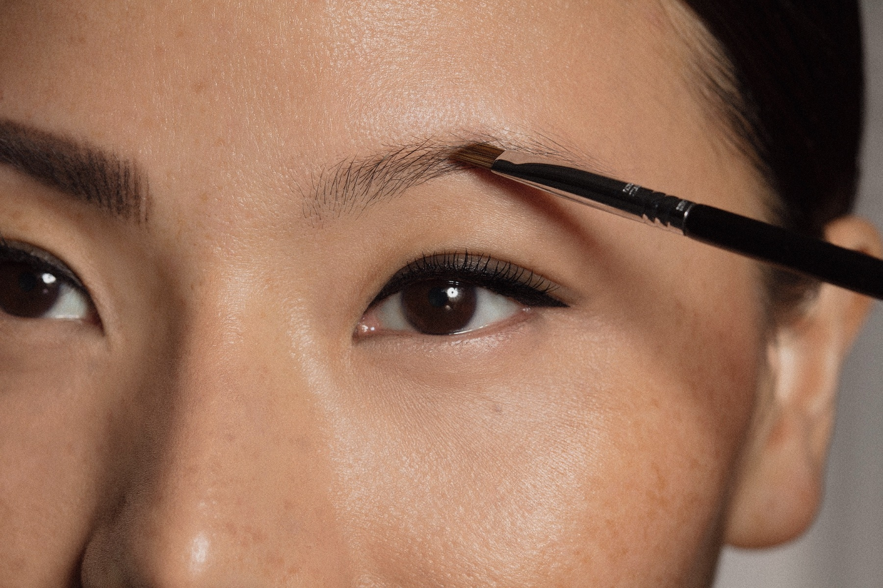 Learn to do eyebrows.