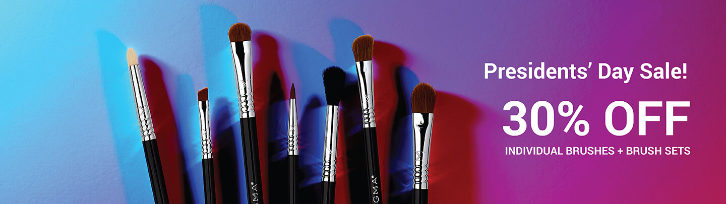 Presidents' Day 2019: 30% Off Brushes and Brush Sets