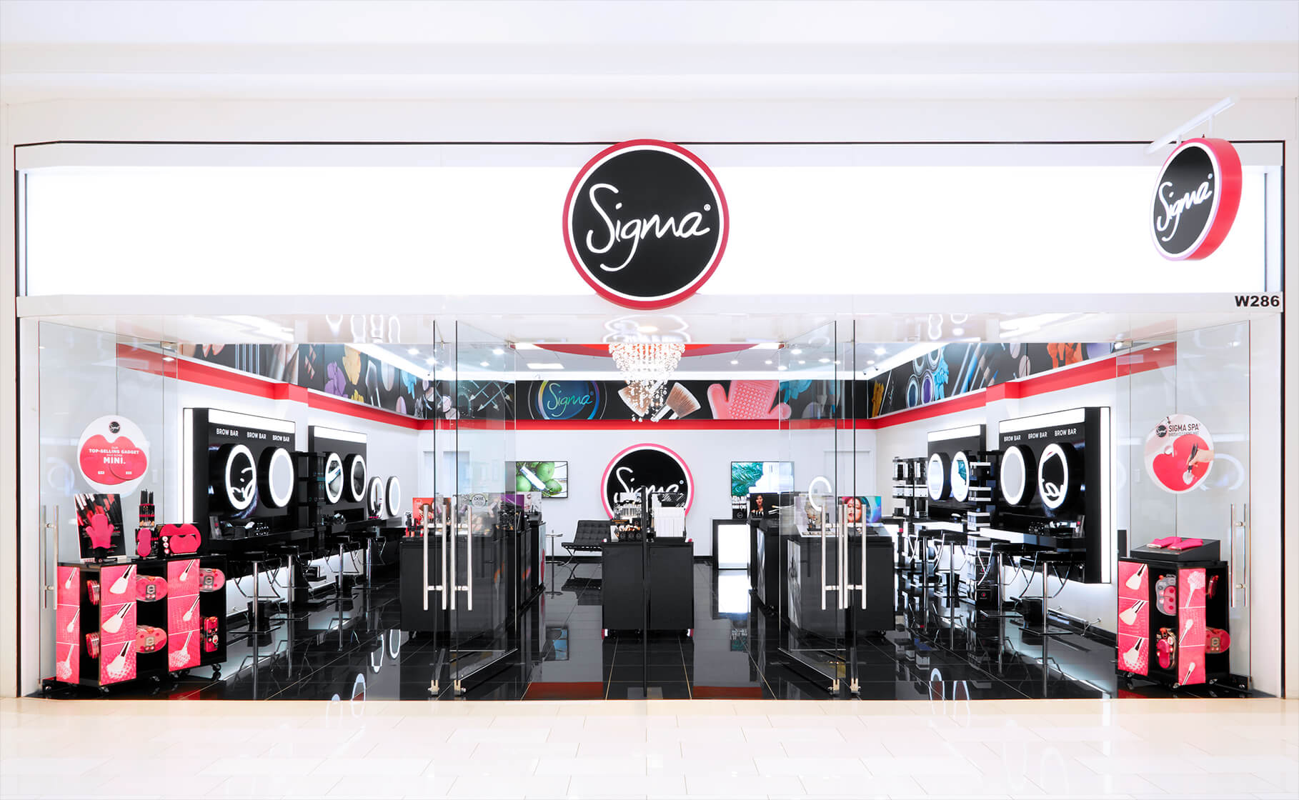 Sigma Beauty Flagship Boutique Storefront