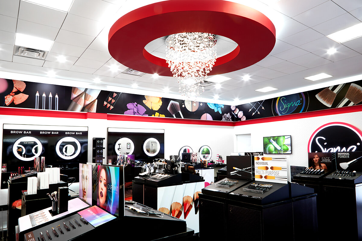 Sigma Beauty Flagship Boutique - Interior View 1
