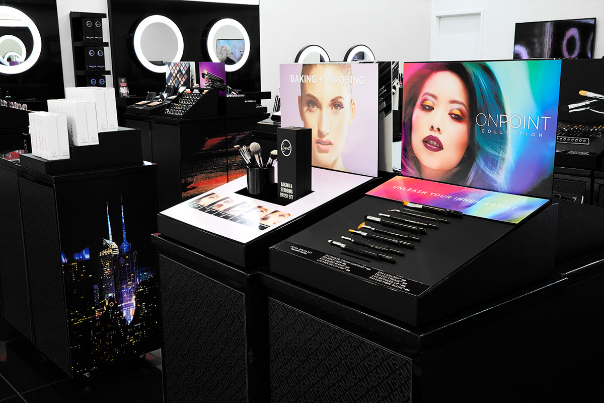 Sigma Beauty Flagship Boutique - Interior View 3