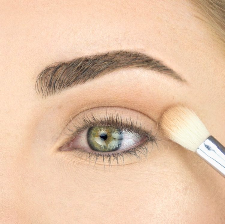 Model using E25 Blending Brush